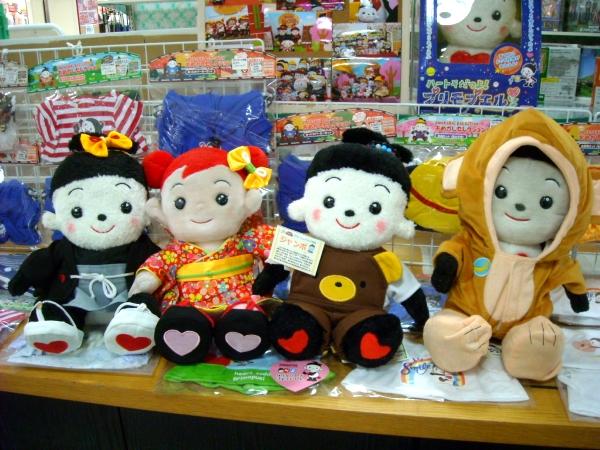 プリモプエルのだいちゃん、らんちゃん、ななちゃんがおもちゃのジャンボに遊びに来てくれました