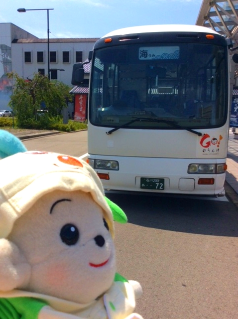 プリモプエルのお友達 分校入園式にもお越しいただいた美音ママンさんところのみーちゃんと、お友達のバスの72号くんです