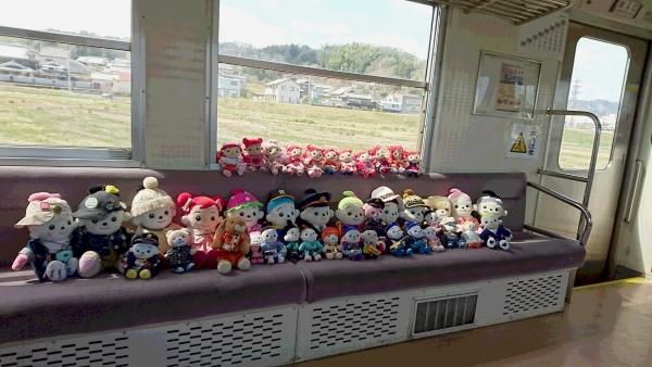 沢山のお友だちプエルちゃんたちと一緒に貸切のプリモ列車で遊んだそうです。