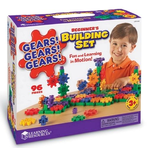 【おもちゃのジャンボ】 ギア型ブロック ギアーズ!ギアーズ!ギアーズ! ビギナーズ・ビルディング・セット 通販 販売