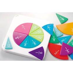 【おもちゃのジャンボ】 くもん はじめての分数パズル 遊びながら 楽しく お勉強 知育 教育 おもちゃ 通販 販売