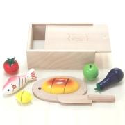 福祉玩具・トイセラピーのリハビリ効果が期待できるおもちゃ「包丁やさんセット」