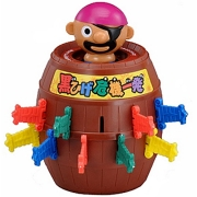 福祉玩具・トイセラピーのコミュニケーションがとれるおもちゃ「黒ひげ危機一発」