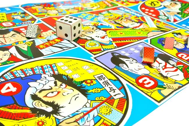 【福祉玩具】 すごろくは複数人で勝敗を楽しむ事が出来、福わらいは遊んでいる人々を笑顔に出来ます。 双六&福笑