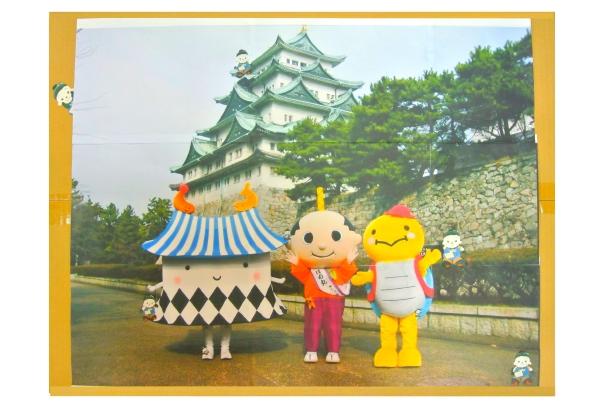 名古屋城にジャンボ君が何人いるか探してください