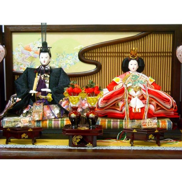 雛人形 ひな人形 お雛様 雛 2人飾り 平飾り 収納 親王 三人官女 コンパクト 2015年度新作 吊るし雛 おもちゃ 通販 販売