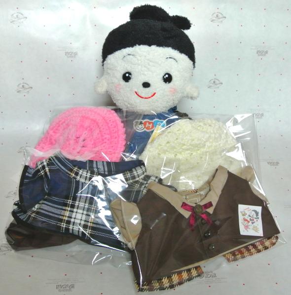 おもちゃのジャンボ でご注文頂きました プリモプエルのお洋服茶色のシックな服セットと暖かそうな上下セットやお帽子の出荷発送です