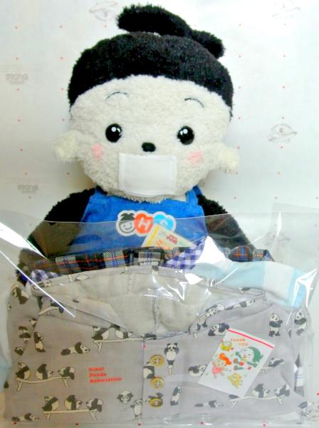 おもちゃのジャンボ でご注文頂きました プリモのお洋服 パンダ柄フード付きシャツが春らしい素敵な洋服の出荷 発送です