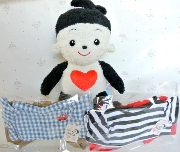 おもちゃのジャンボ でご注文頂きました プリモプエルの服 ワッペン付きTシャツとボーダーTシャツが人気のお洋服 セットの出荷 発送です