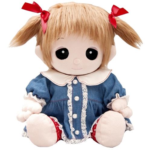 【おもちゃのジャンボ】 夢の子コレクション39 デニムワンピース (リボン・レギンス付き)  お洋服 ユメル ネルル ミルル 通販 販売